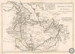نقشه قدیمی ایران